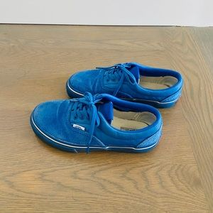 Vans Shoes - Vans x Undefeated Youth Blue Terrycloth Sneaker